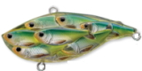 817 Blue/Chartreuse Shad